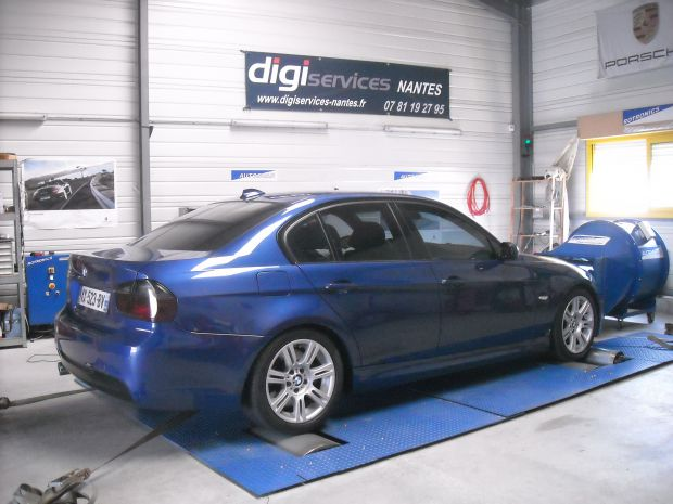reprogrammation moteur bmw 325d 197cv digiservices nantes. Black Bedroom Furniture Sets. Home Design Ideas