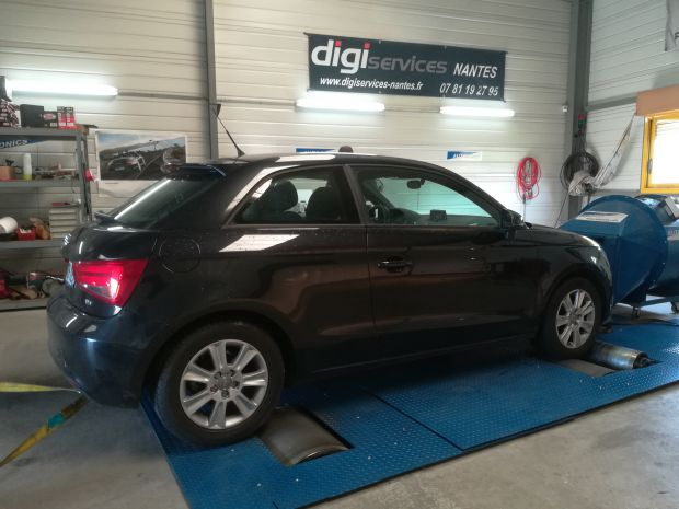 reprogrammation moteur audi a1 1 6 tdi 90cv digiservices nantes. Black Bedroom Furniture Sets. Home Design Ideas
