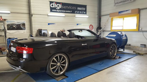 reprogrammation moteur audi a5 3 0 tdi 140cv cabriolet digiservices nantes. Black Bedroom Furniture Sets. Home Design Ideas
