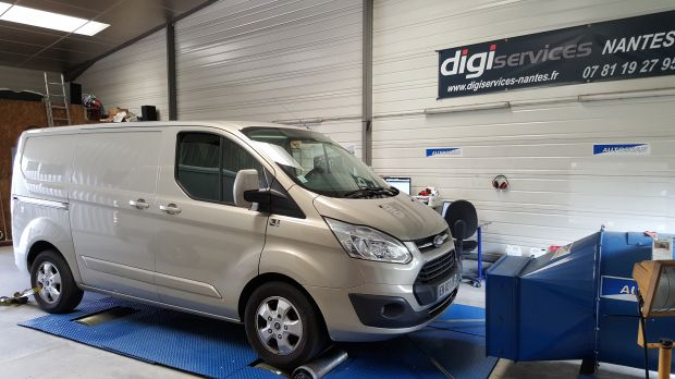 reprogrammation moteur ford transit custom 2 0 tdci 130cv digiservices nantes. Black Bedroom Furniture Sets. Home Design Ideas